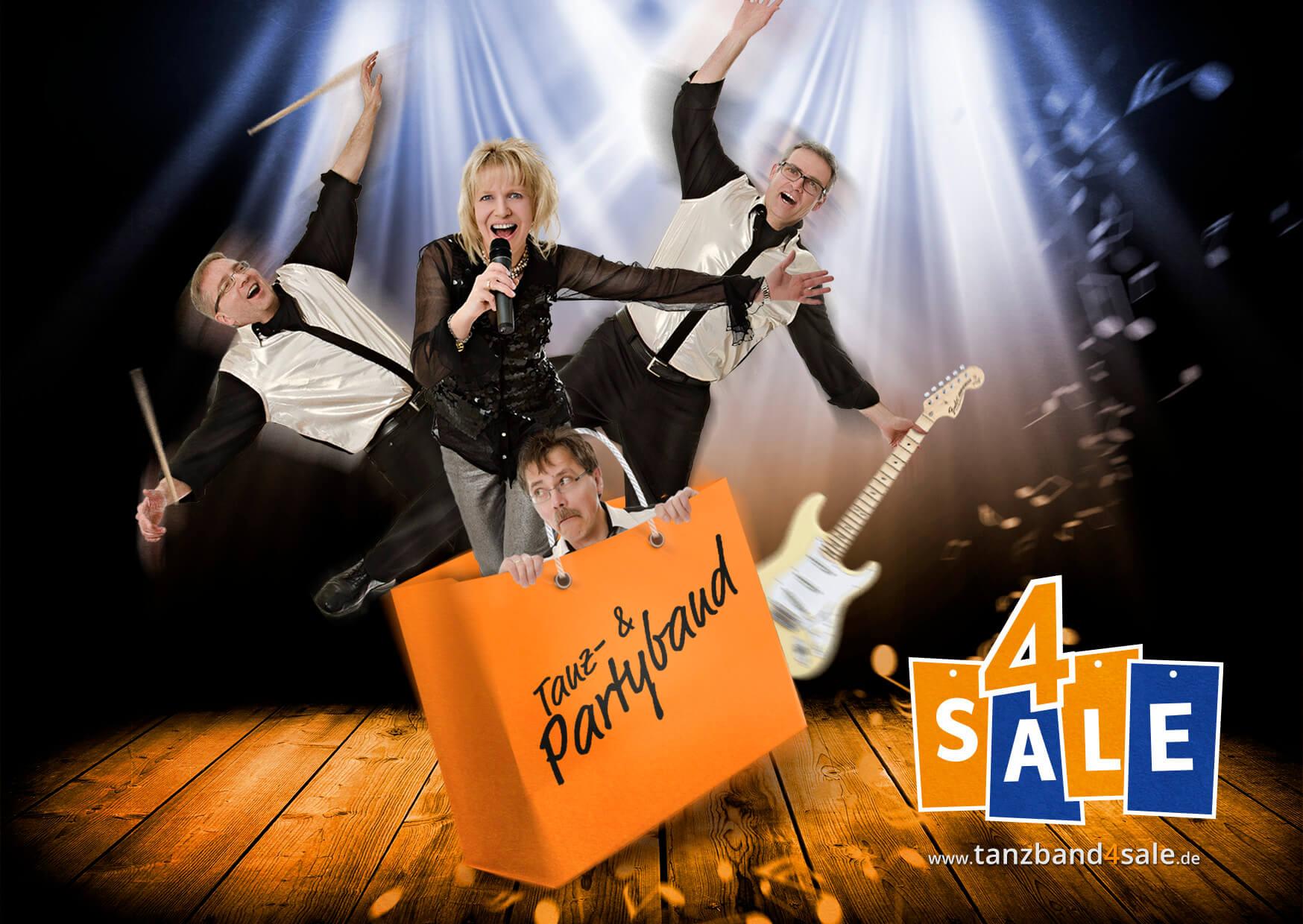 Downloads - Werbebanner Tanzband 4 SALE