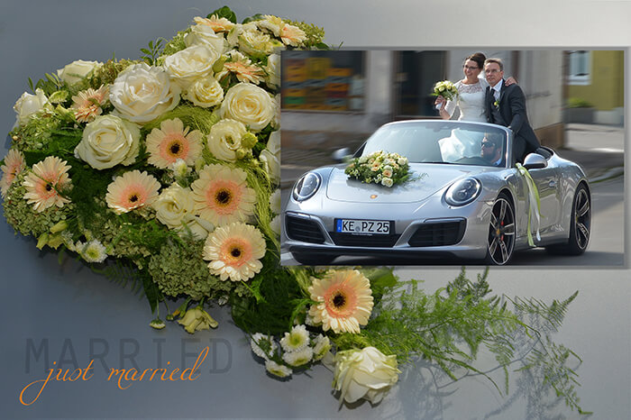 Brautpaar Porsche 911